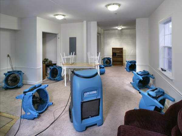water damage Mansfield ma